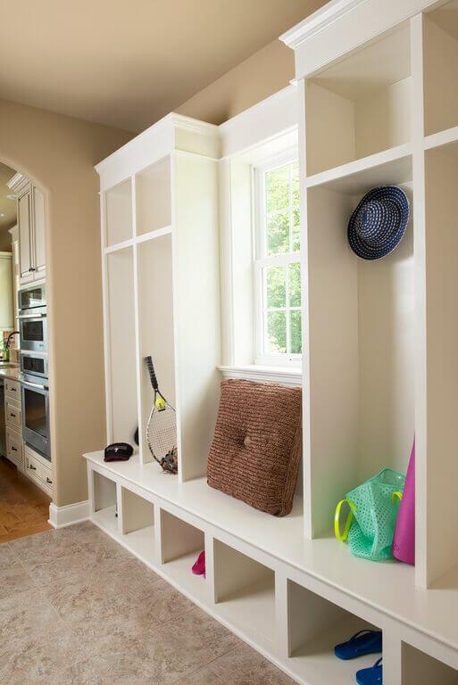 Entryway bedroom shoe storage organizer ottoman bench