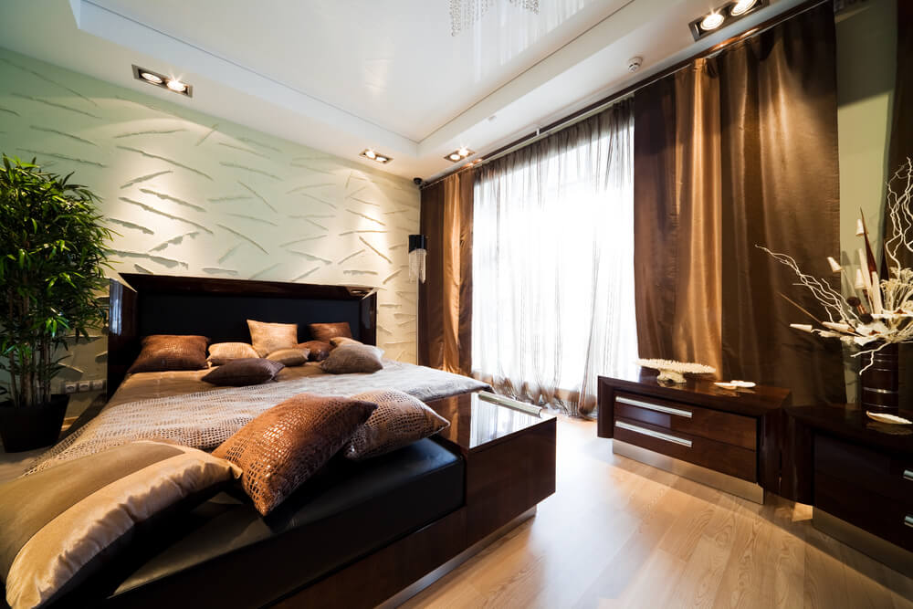 Large master bedroom decorating ideas on a budget