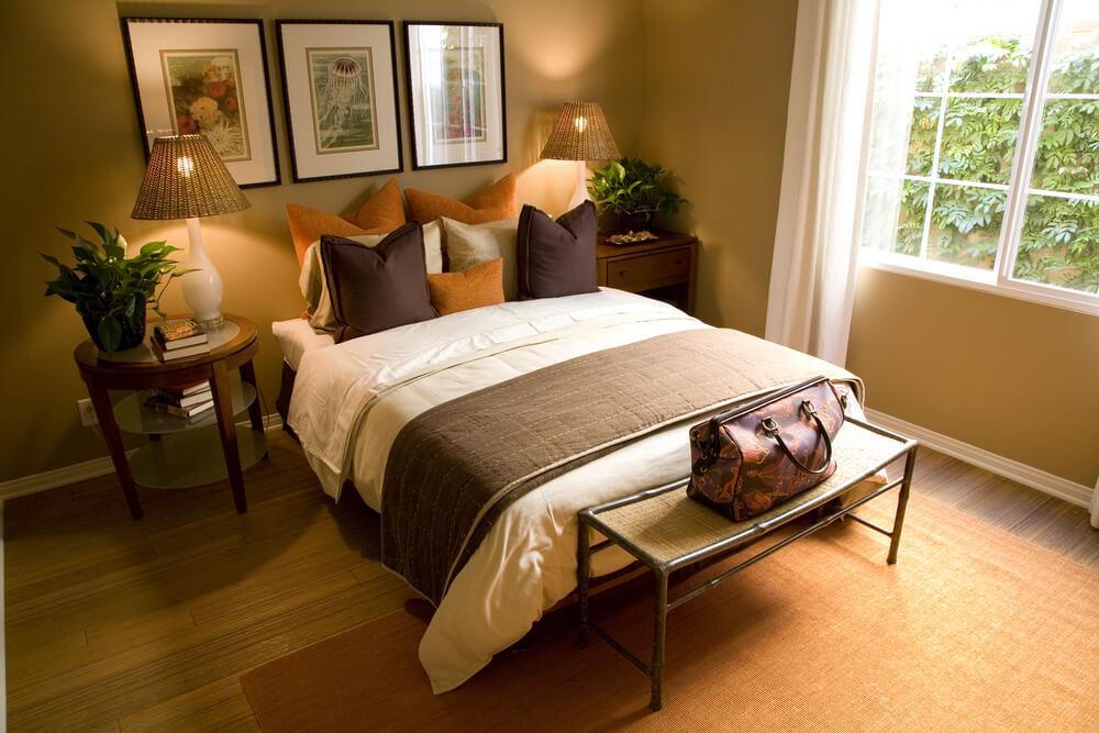 Luxury homes bedroom decorating ideas