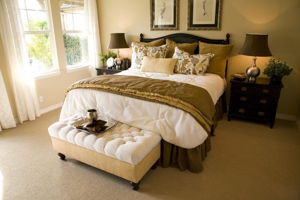 Luxury master bedroom suites designs and interiors