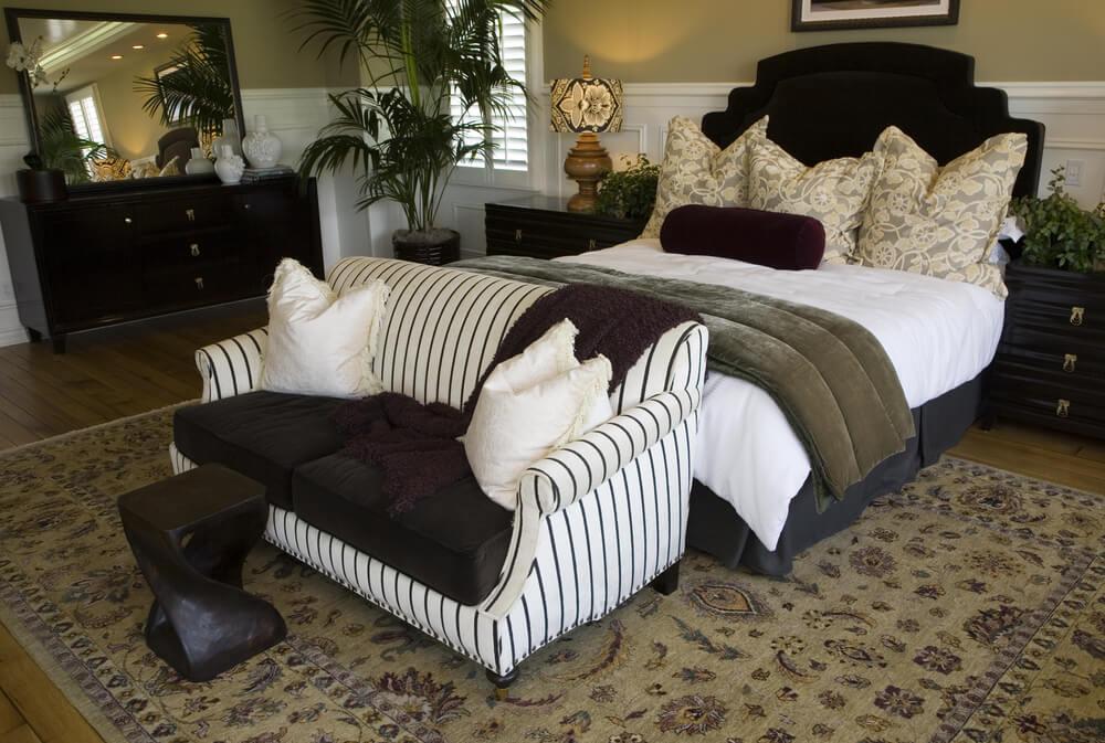 Master bedroom decorating ideas rustic