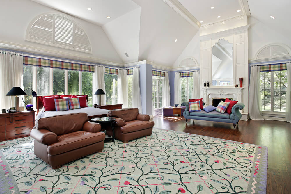 Master bedroom paint ideas high vaulted ceiling