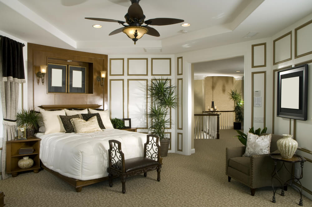 master bedroom decorating ideas with white furniture
