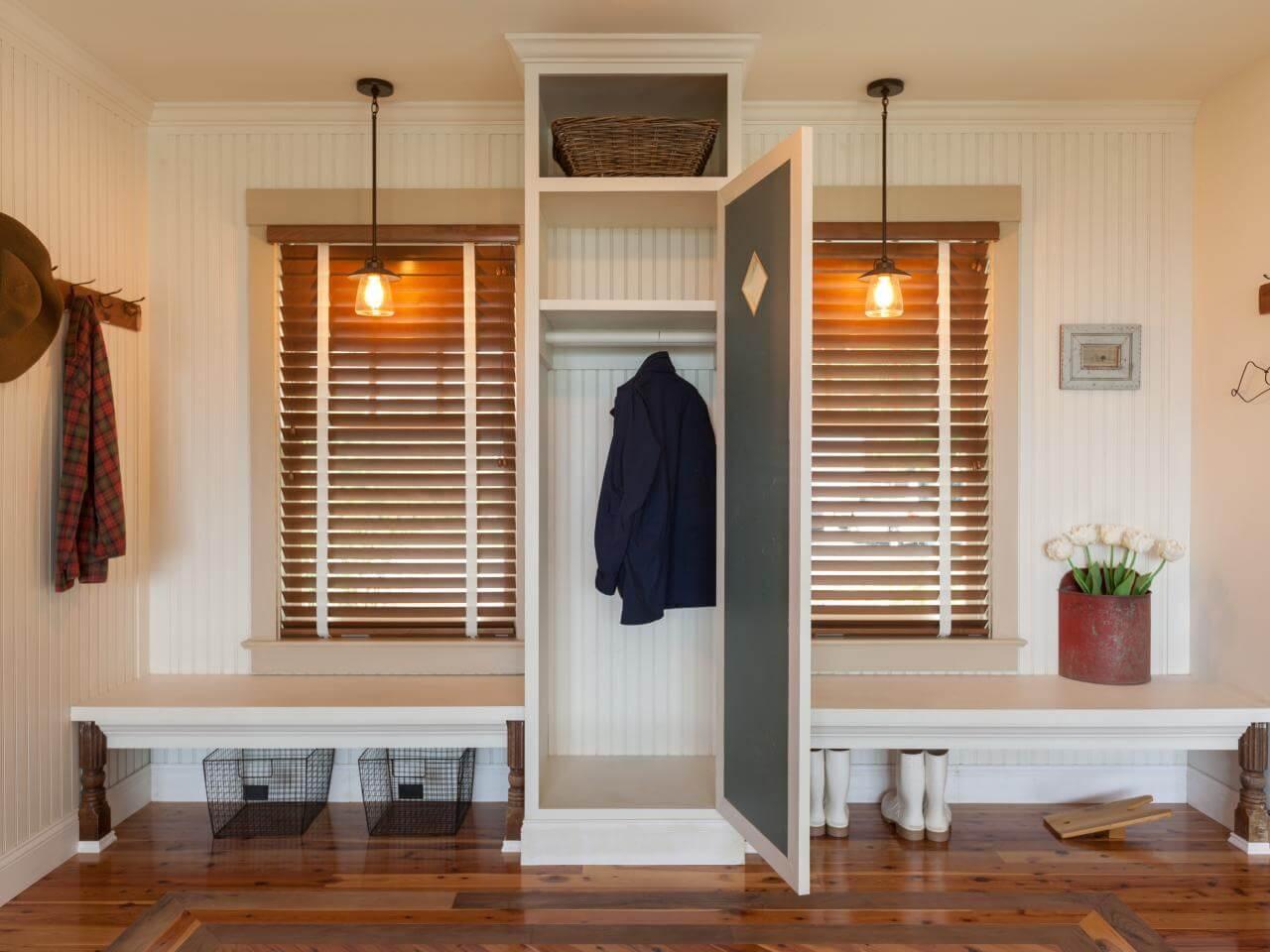 Prepac sonoma black entryway cubbie shelf and coat rack