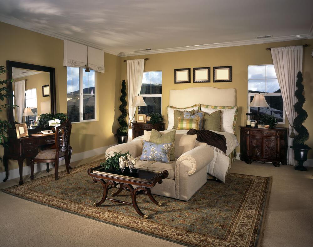 Spanish style master bedroom decor ideas photos
