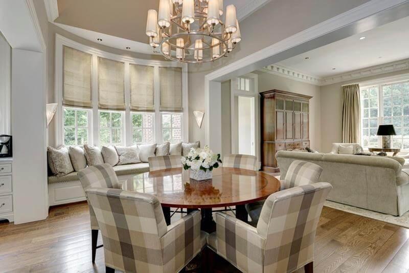 Circular Dining Room Design