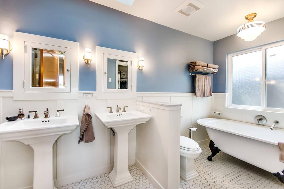 Bathrooms Pedestal Sinks