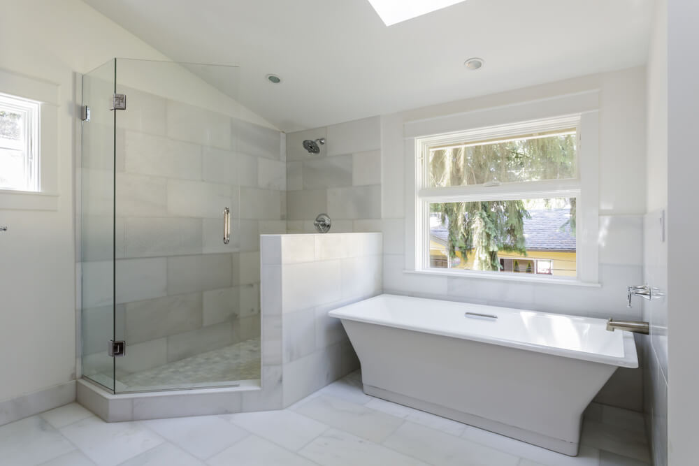 Bathrooms Separate Showers Tubs