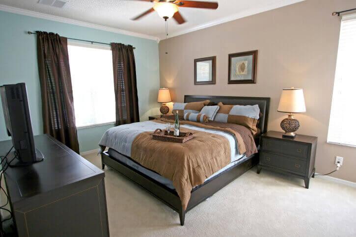 Bedrooms Dark Furniture