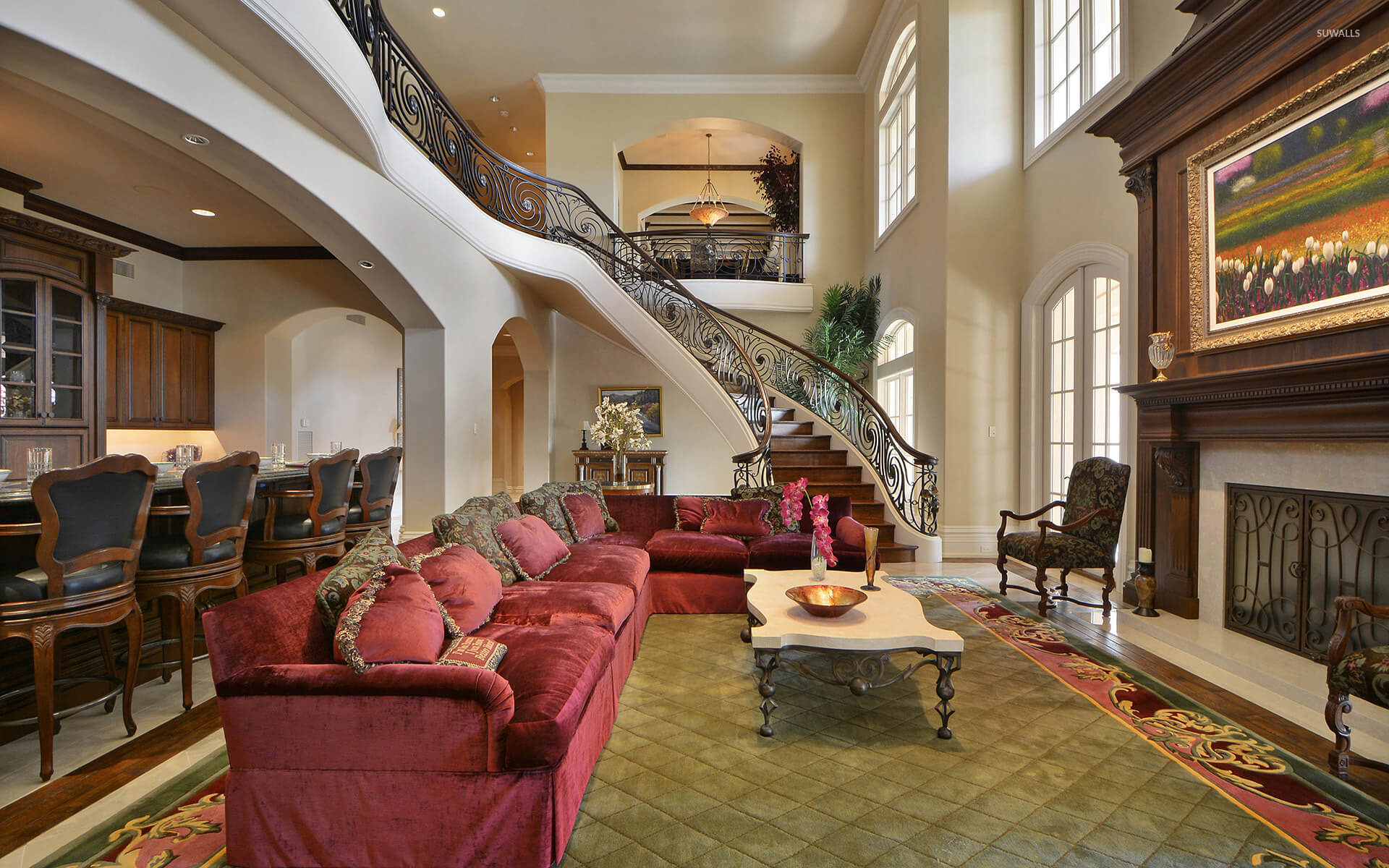 Mansion Living Rooms