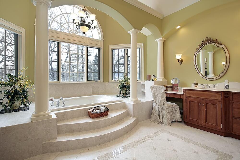 New Home Custom Luxury Bathroom Designs