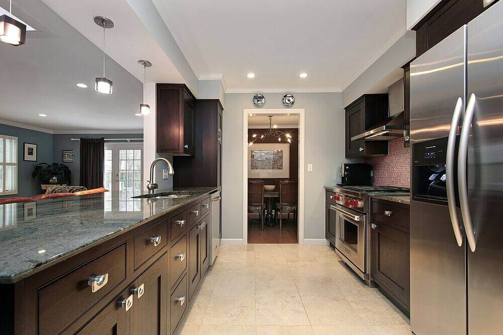 Rectangular Kitchen Designs