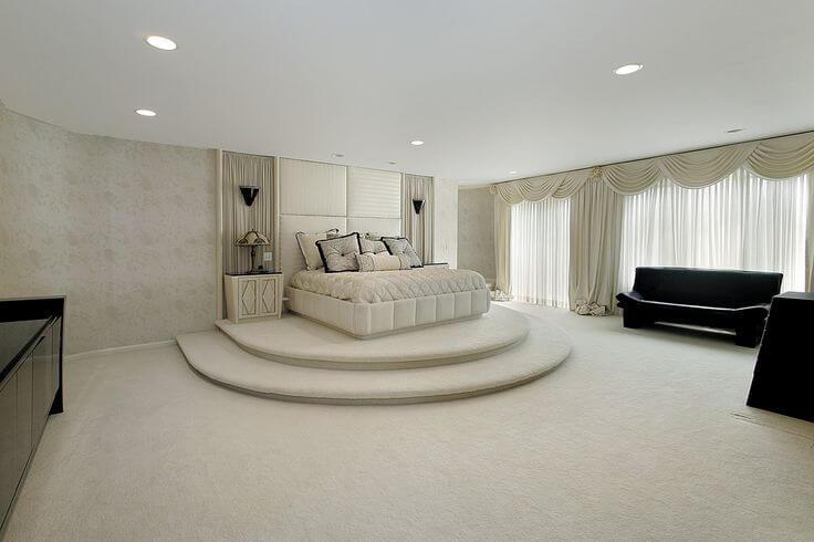 Spacious Master Bedroom Designs