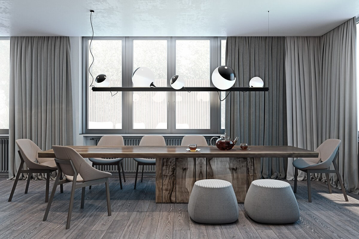 Striking Dining Rooms Top Designers
