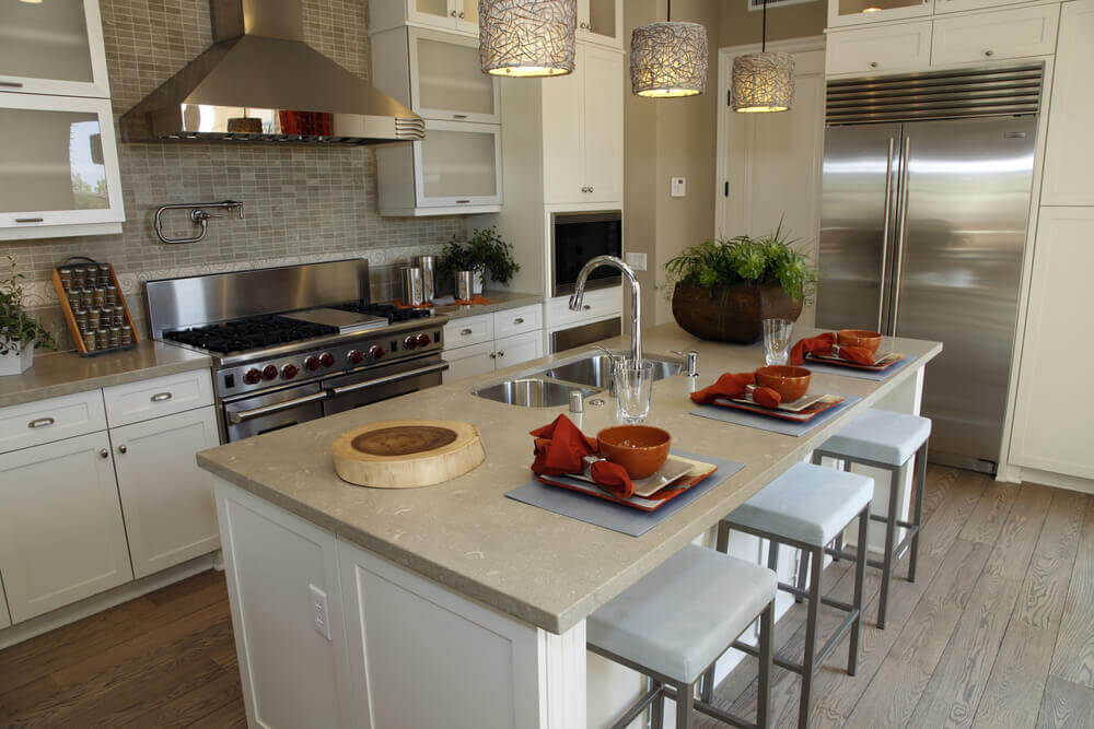 White Kitchen Design Variations