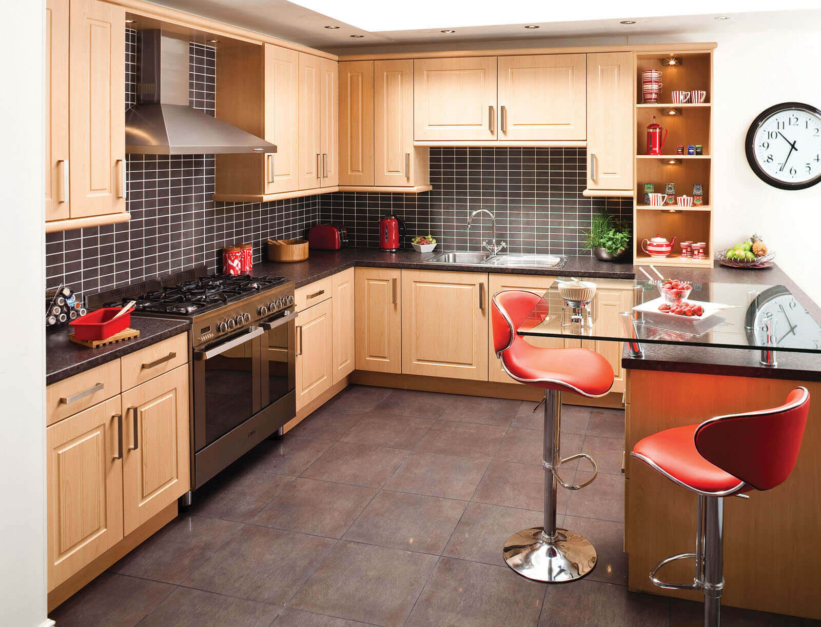 Contemporary Kitchen Tiles for Backsplash
