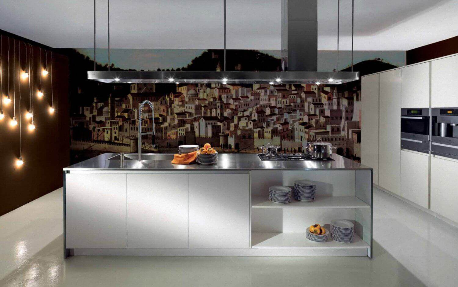 Contemporary Kitchen Wallpaper Ideas