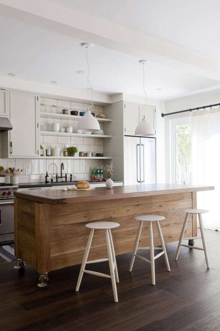 Kitchen Island on Rollers