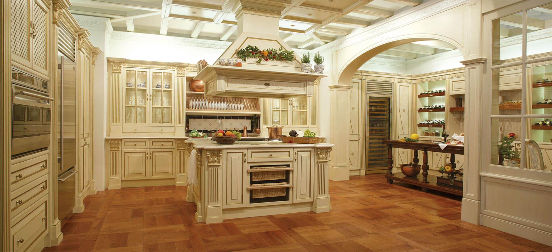 luxury classic kitchen design