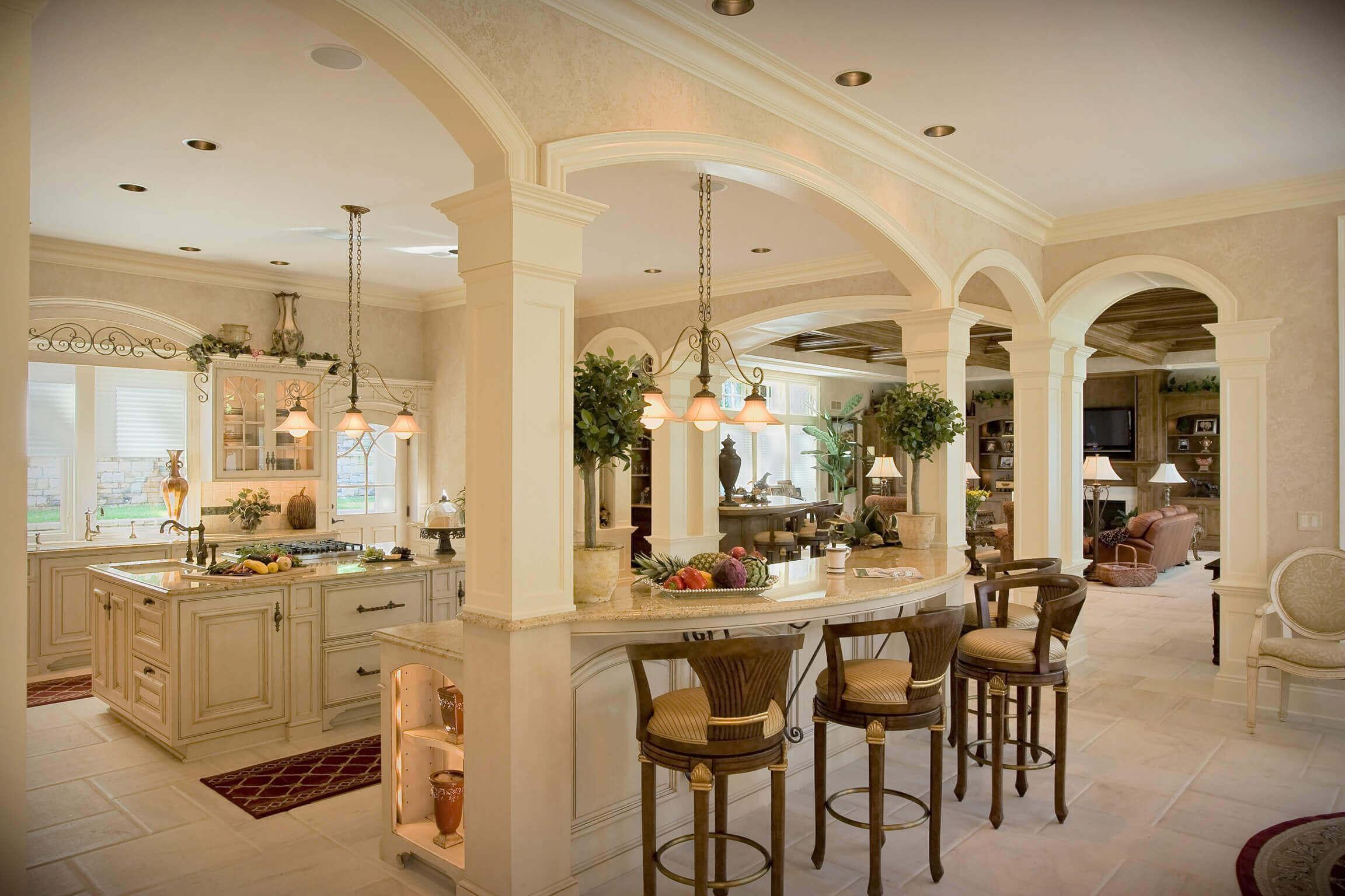 Luxury Kitchen Designs with Island