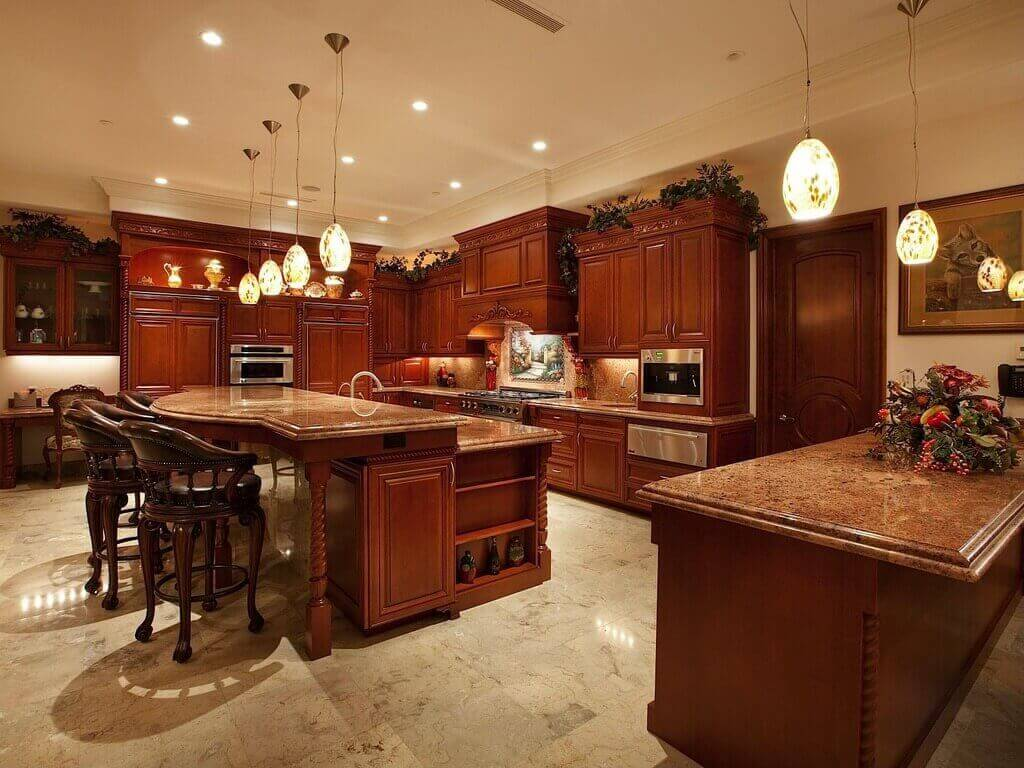 Luxury Kitchen Islands with Seating