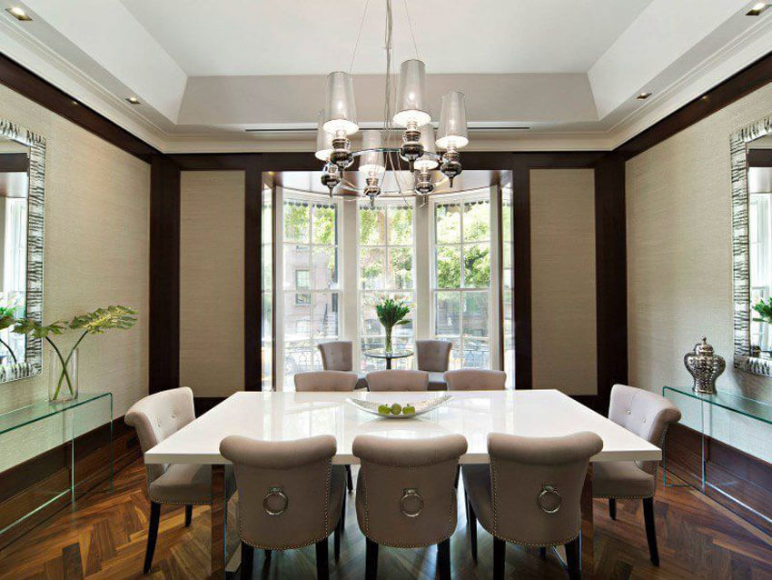 24 Two Tone Dining Room Ideas Pictures