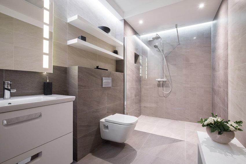 clean design bathroom