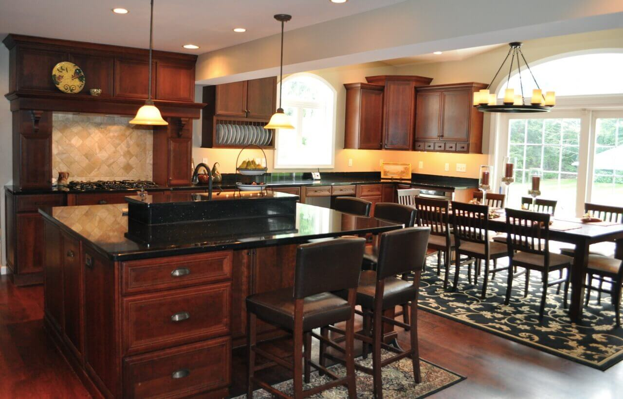 Contemporary Wood Kitchens