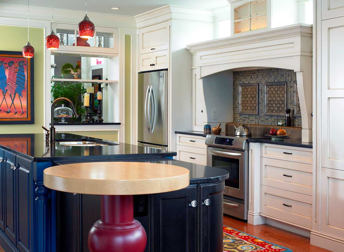 Eclectic Mix Custom Kitchen Designs