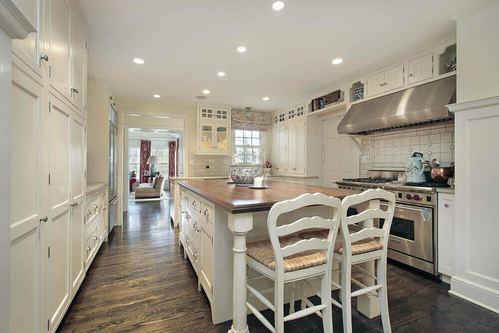 Kitchens White Cabinets And Islands