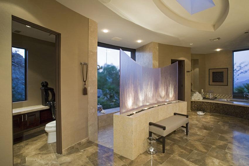 million dollar bathroom at luxury home