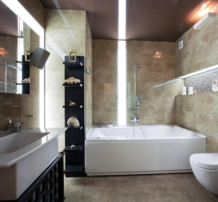 modern upscale bathroom design