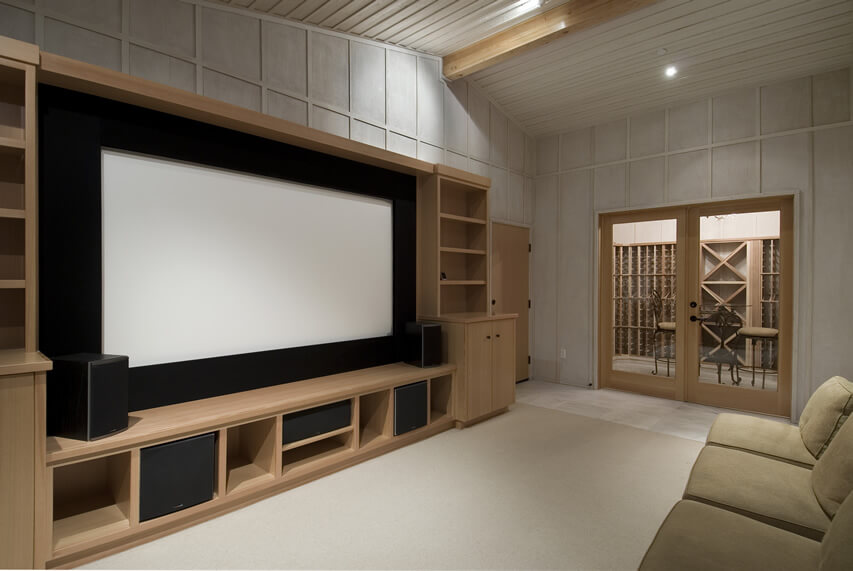 Movie Room Large Entertainment Center