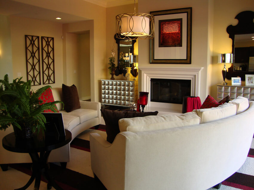Richly Furnished Living Space