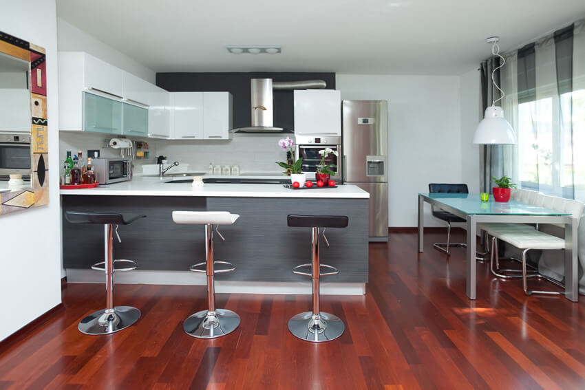 Small U Shaped Modern Kitchen Design