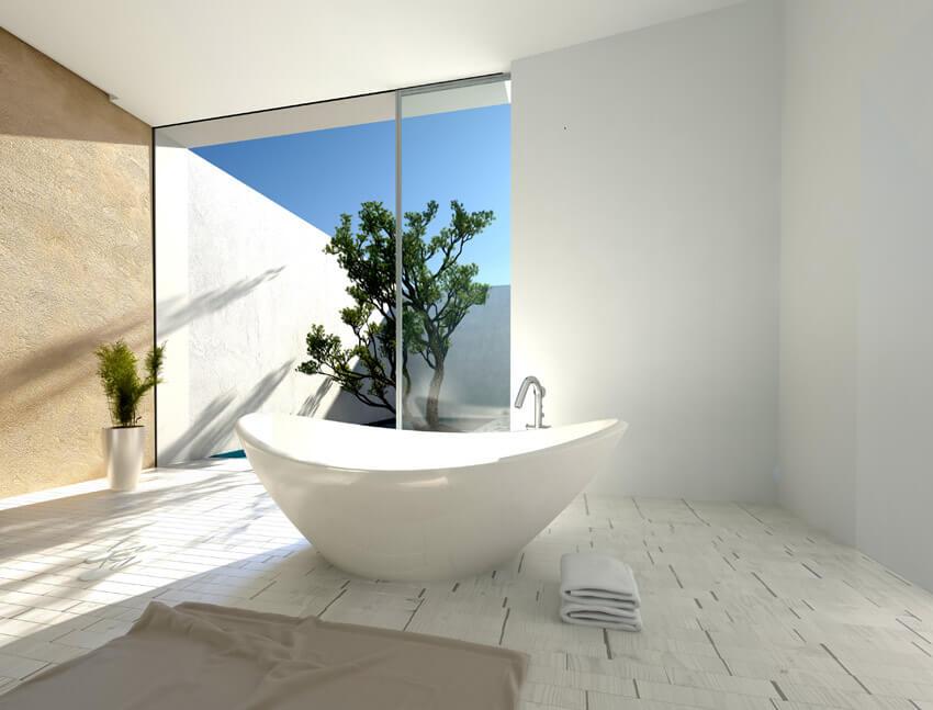 zen design bathroom oasis