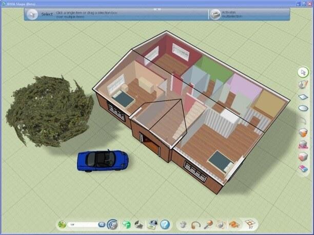 3dvia shape design software