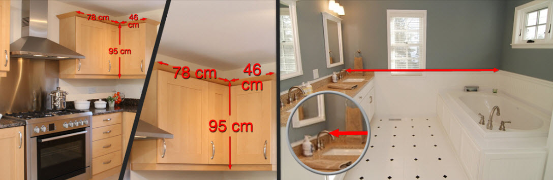 App for measuring house interiors