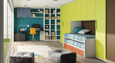 Design for complete child bedroom