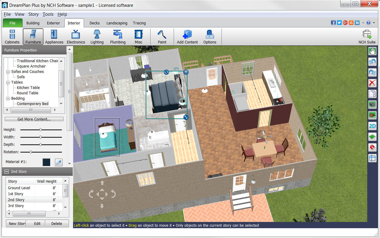 Dreamplan software online application for designing houses
