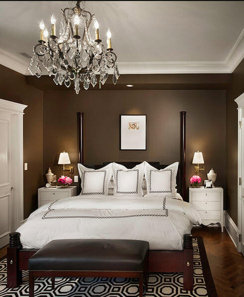 Elegant double bedroom design