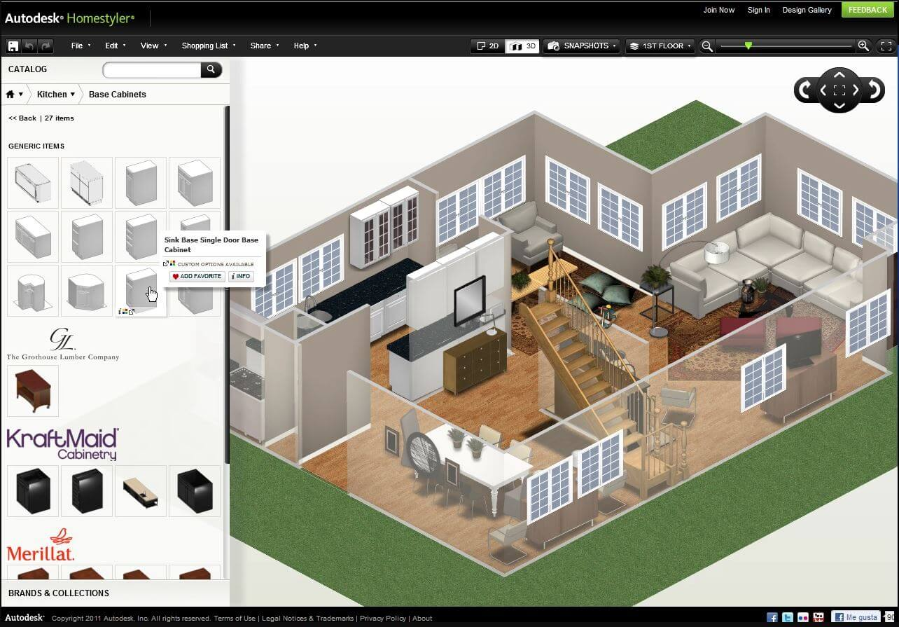 HomeStyler Free Home Plans Designer Tool