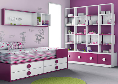 Room design suitable for a child
