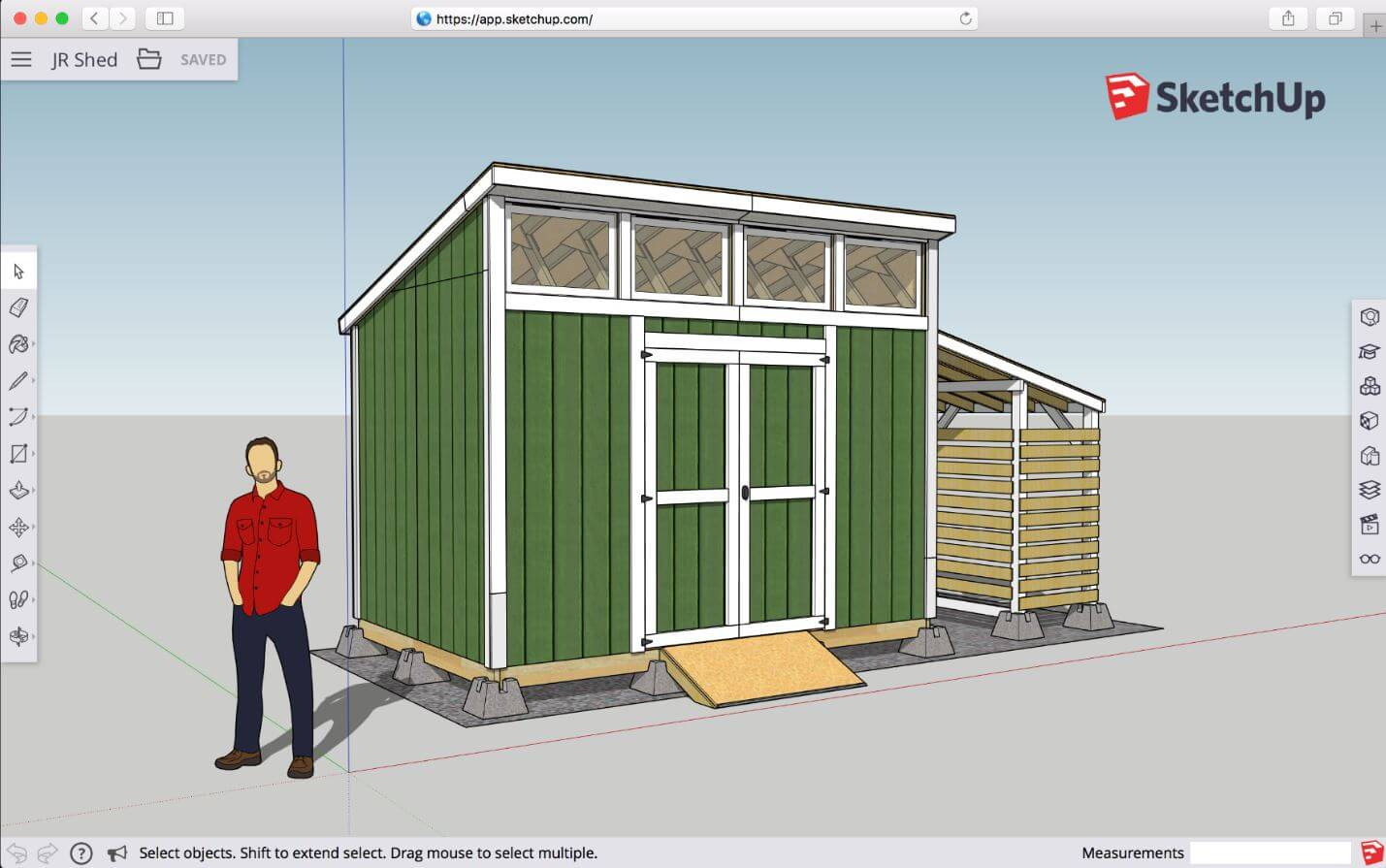Sketchup design planning software