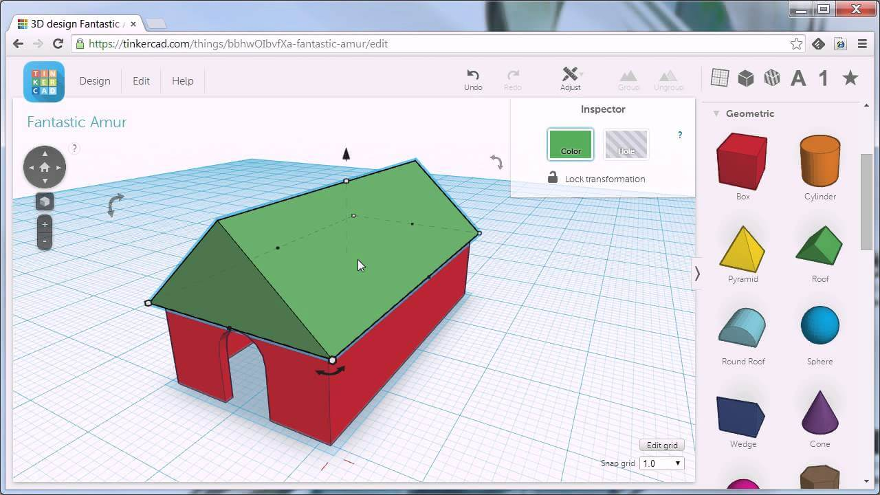 Tinkercad fun home design software