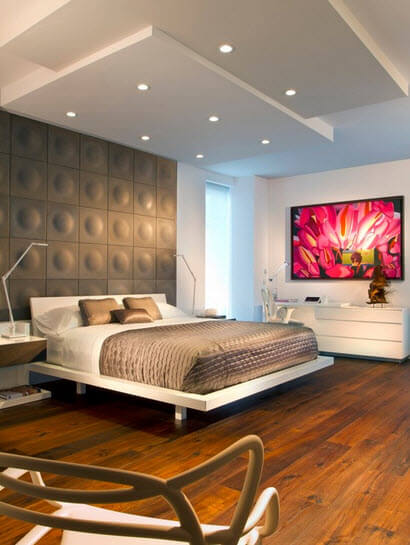 modern bedroom interior decoration