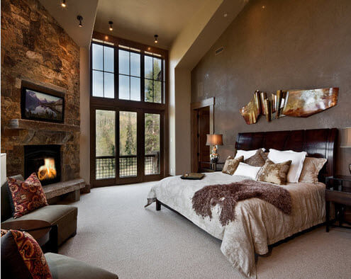 rustic room decoration and design
