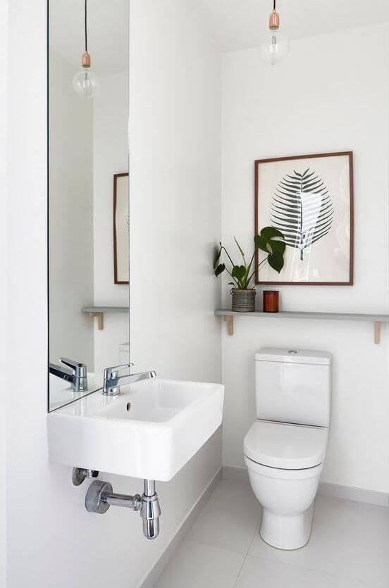 Basic and simple bathroom design