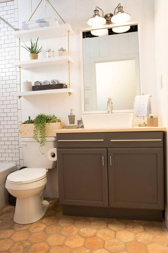 Build your own small bathroom