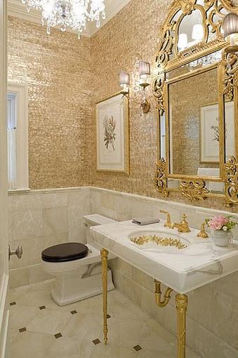 Elegant antique style bathroom